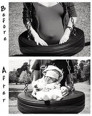Before and after the Baby