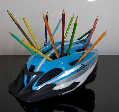 Bicycle helmet, all rights reserved