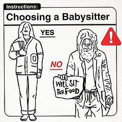 Choosing a nanny or a babysitter